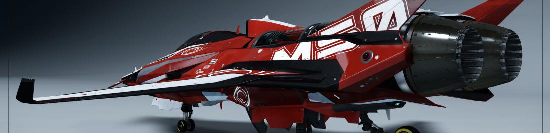 La nueva nave disponible en Star Citizen es un ferrari del espacio
