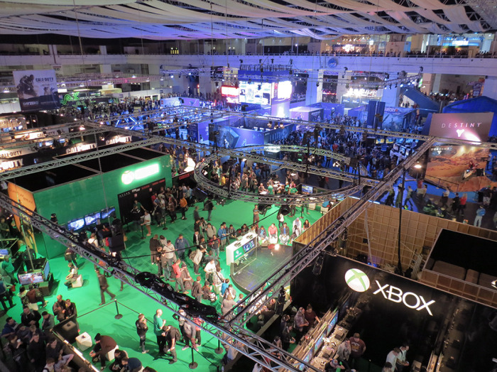 Y así fue la EGX Londres 2014 [Lagzero International]