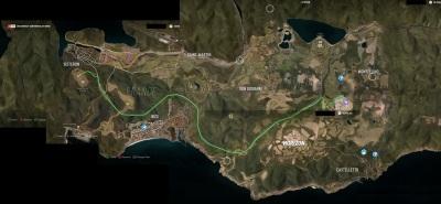 El Mapa completo de Forza Horizon 2