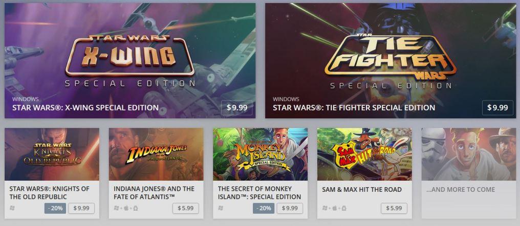 Disney y GOG.com se unen para traer un pack de pelicula [TAKE MY MONEY NOW!!!]