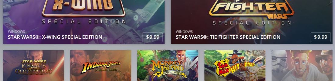 Disney y GOG.com se unen para traer un pack de pelicula [TAKE MY MONEY NOW!!!]
