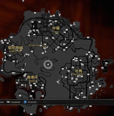 Este es el mapa completo de Sleeping Dogs
