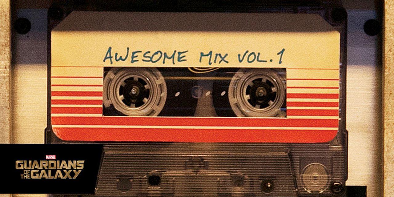"""El """"Awesome Mix Vol. 1 Soundtrack"""" será lanzado en cassette [CINE]"""
