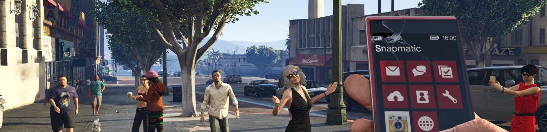 Nuevas screenshots del GTA 5 FPS style [Shuper guay!]