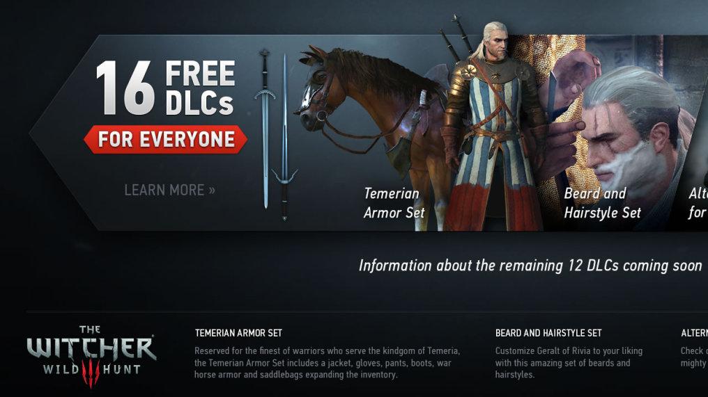 The Witcher 3 tendra un total de 16 DLC ¿pero cuanto costaran?