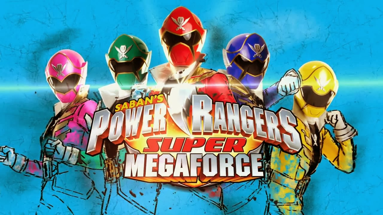 LagZero Analiza: Power Rangers Super Megaforce [go go Power Review]