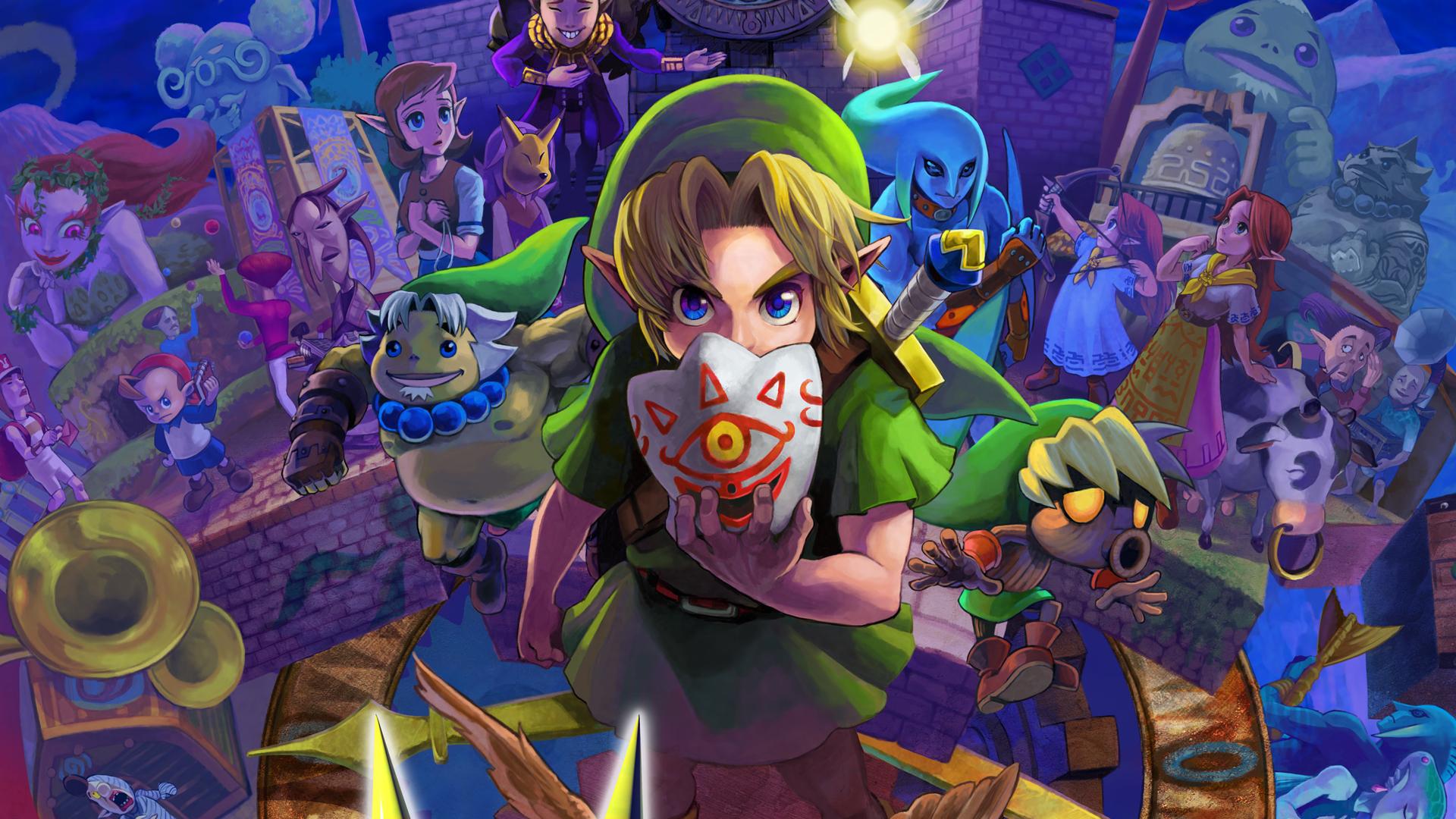 La edición especial de The Legend of Zelda Majora's Mask 3D viene con una estatua de Skull Kid [Anuncios]