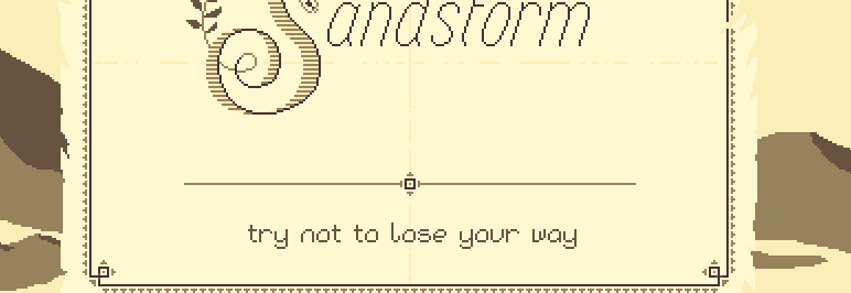 Sandstorm, o la agonía de perderse en el desierto [indi game]