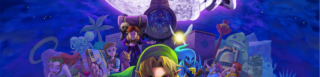 30 minutos del remake 3D de The Legend of Zelda: Majora's Mask