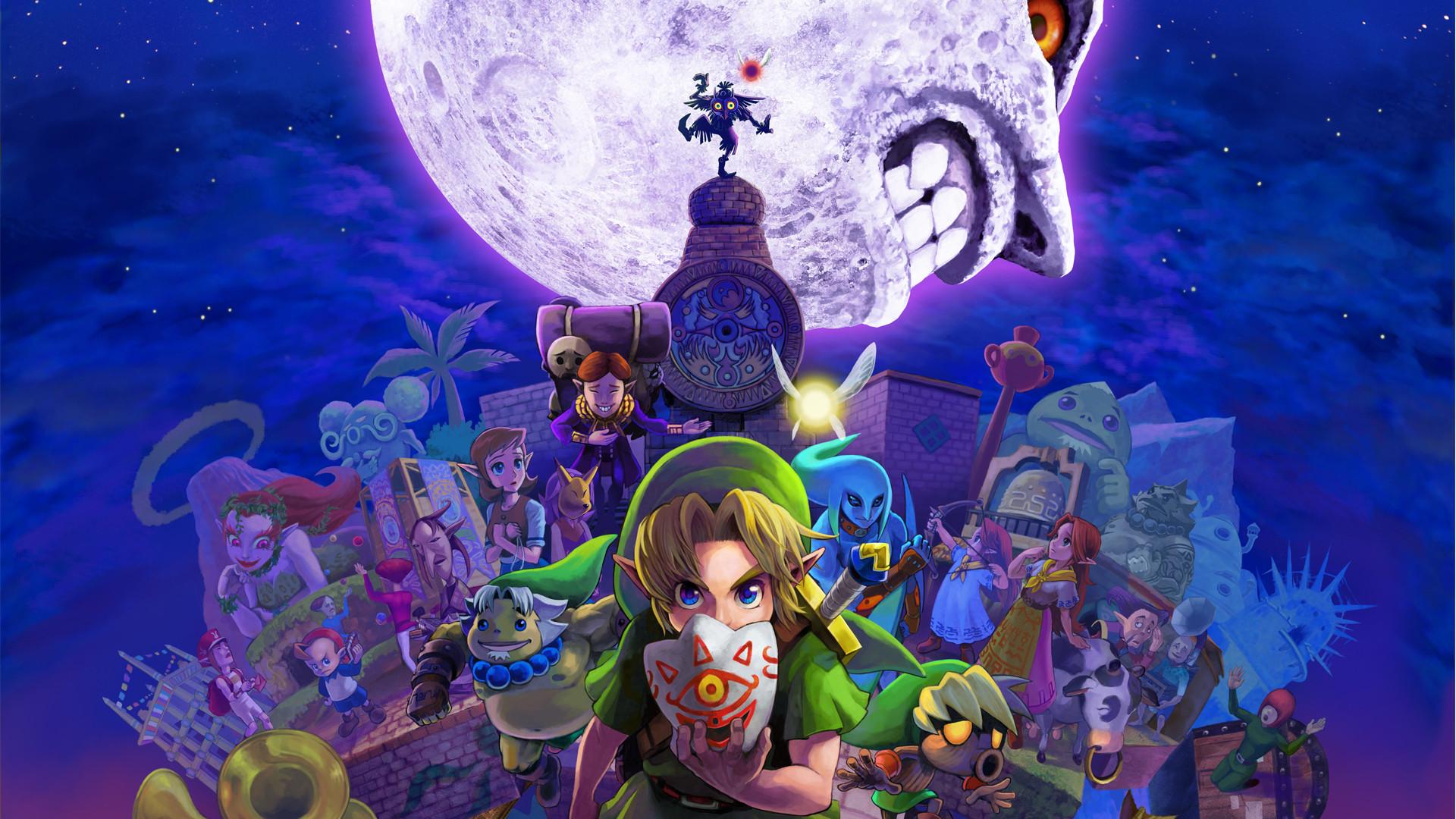30 minutos del remake 3D de The Legend of Zelda: Majora's Mask