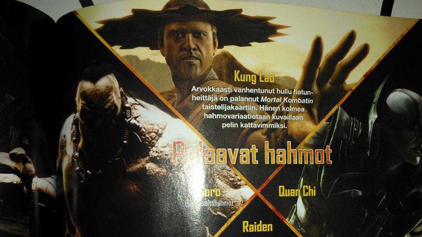 El tata Kung Lao hace su aparición en Mortal Kombat X [Anuncios]