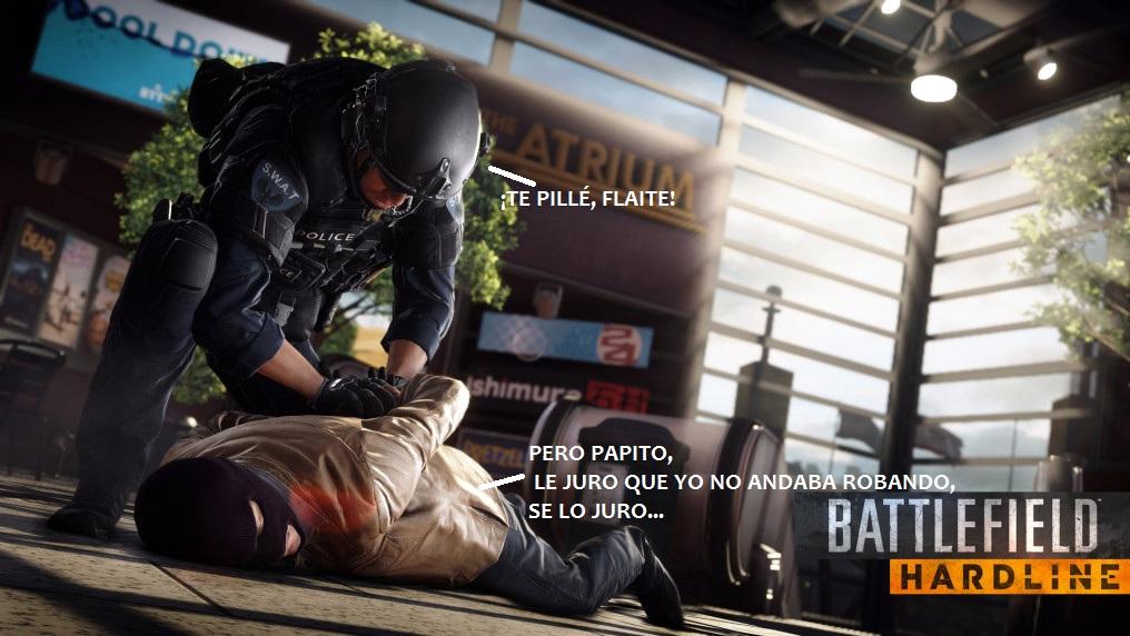 UPDATE RÁPIDO LAGZERIANO: Cosas del Battlefield Hardline Beta. [BETA NIUS]