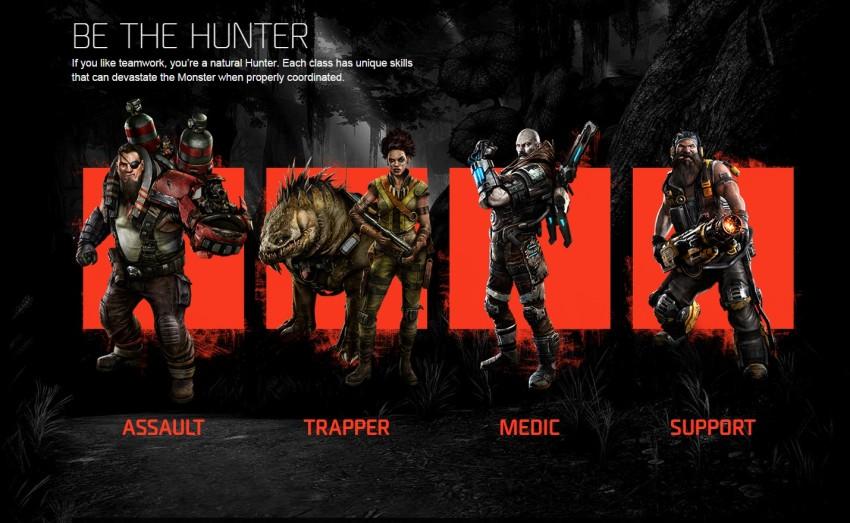 Las clases de Hunters