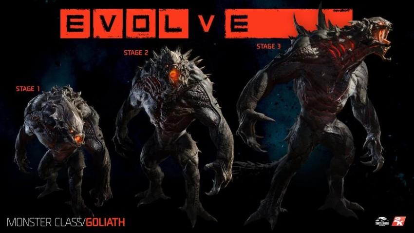 Las etapas de Goliath