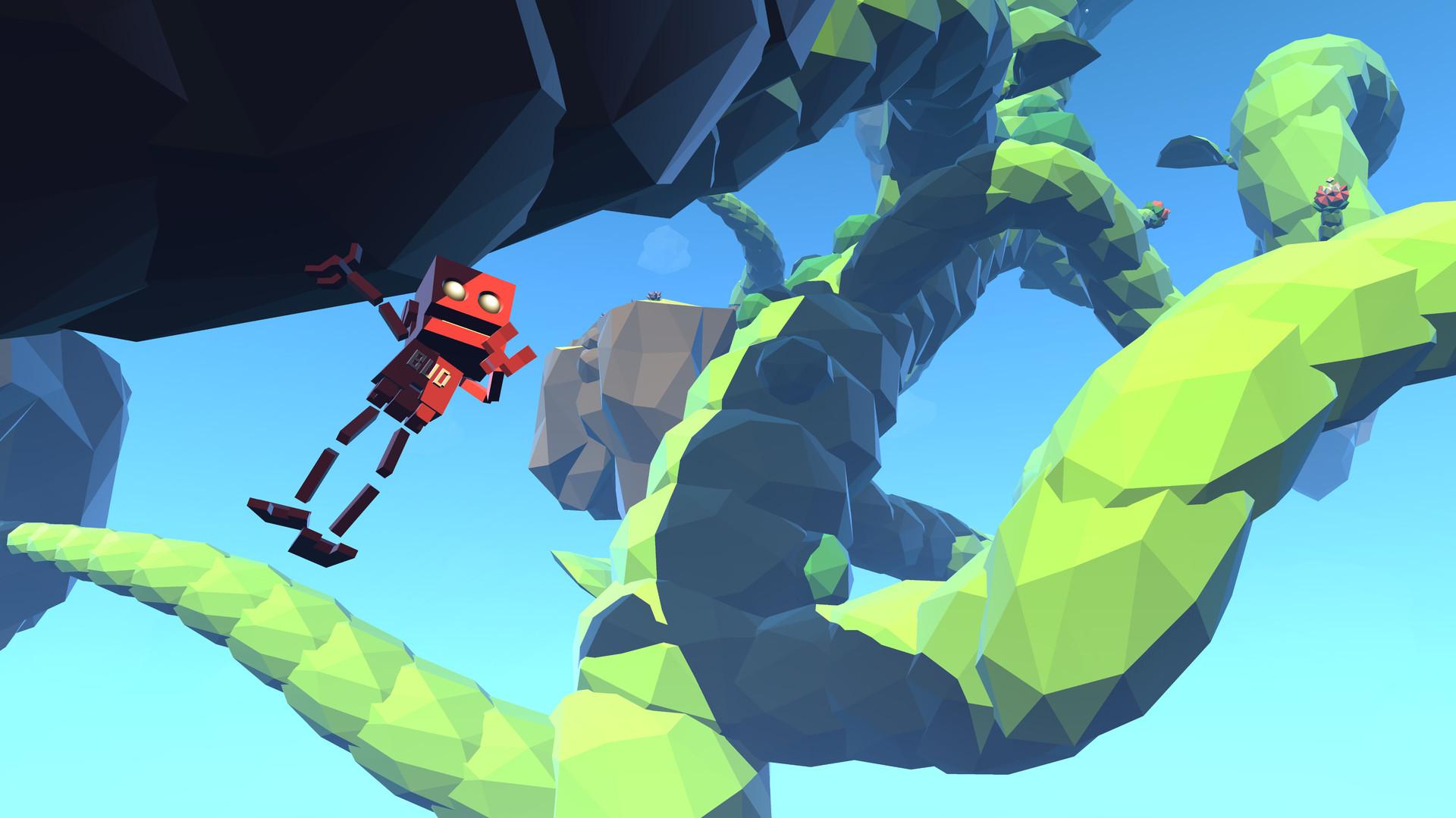 De la nada aparece Grow Home un interesante y relajante juego de exploración