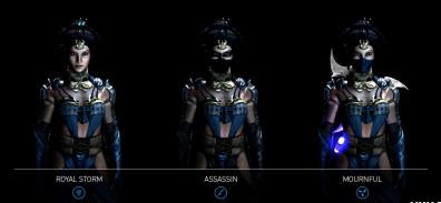 Estas son las variaciones de Kitana en Mortal Kombat X