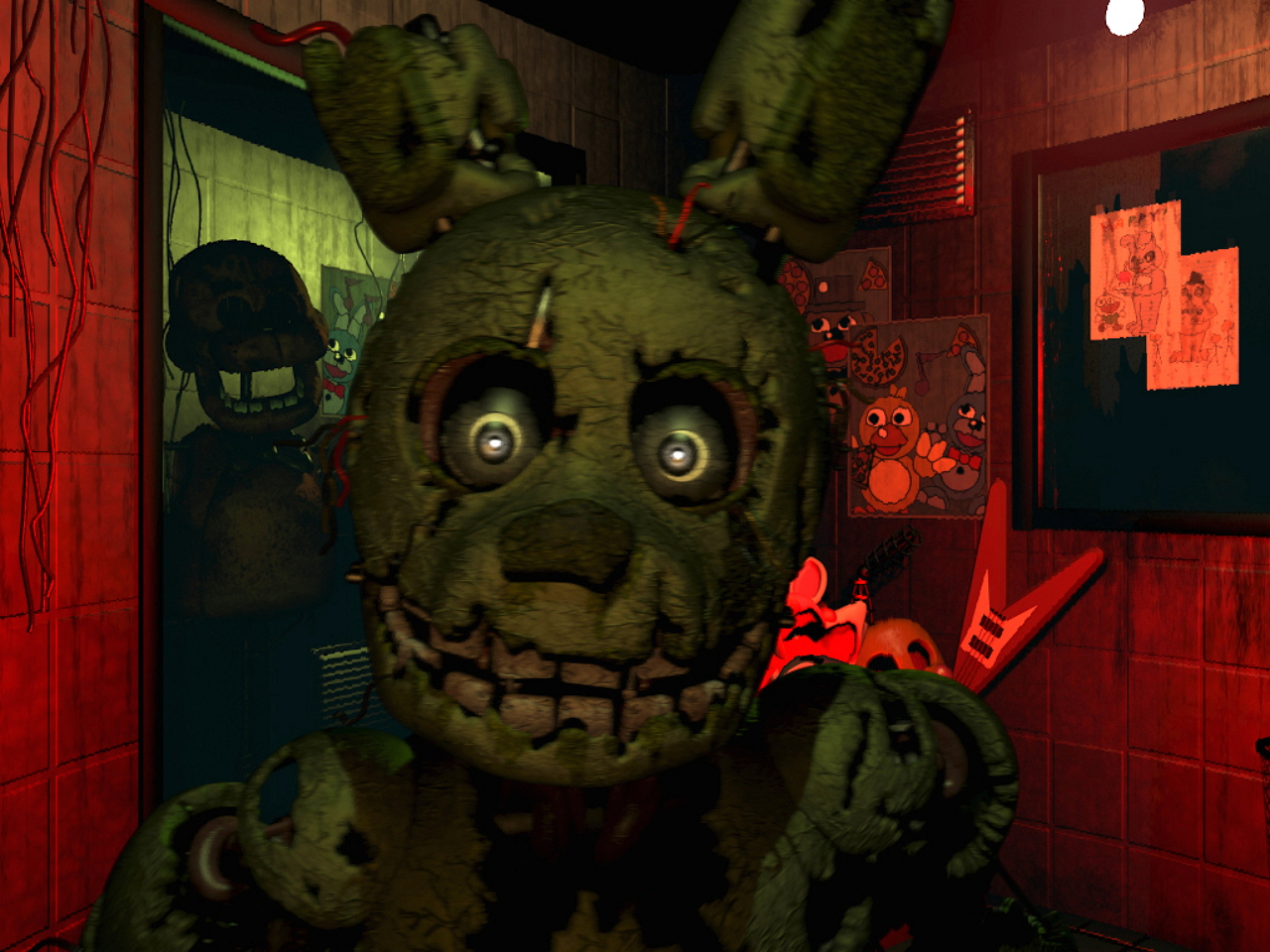 Five Nights at Freddy's 3 aparece de la nada y ya esta en Steam
