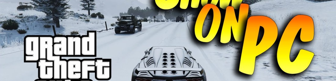 Mod permite nevar en GTA V.[VIDEO]