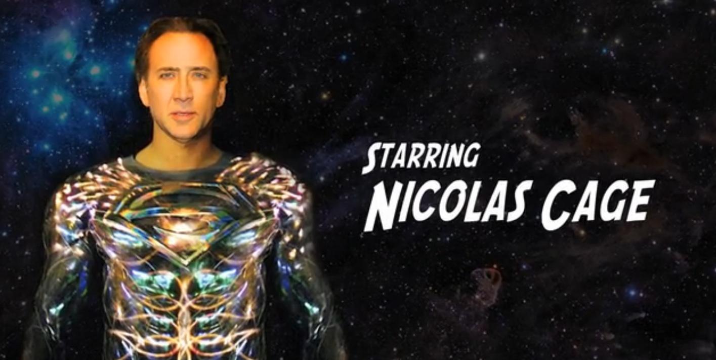 Documental sobre el Superman de Tim Burton y Nicolas Cage