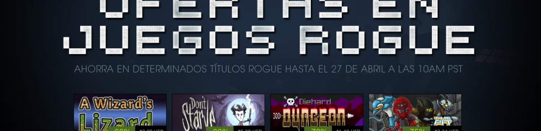 Corre a Steam por las super ofertas flash de juegos estilo Rogue. [STEAM]