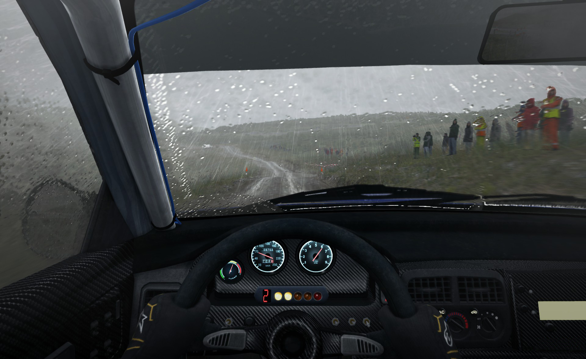 A toda velocidad y de la nada aparece Dirt Rally, simulación para fanáticos de verdad