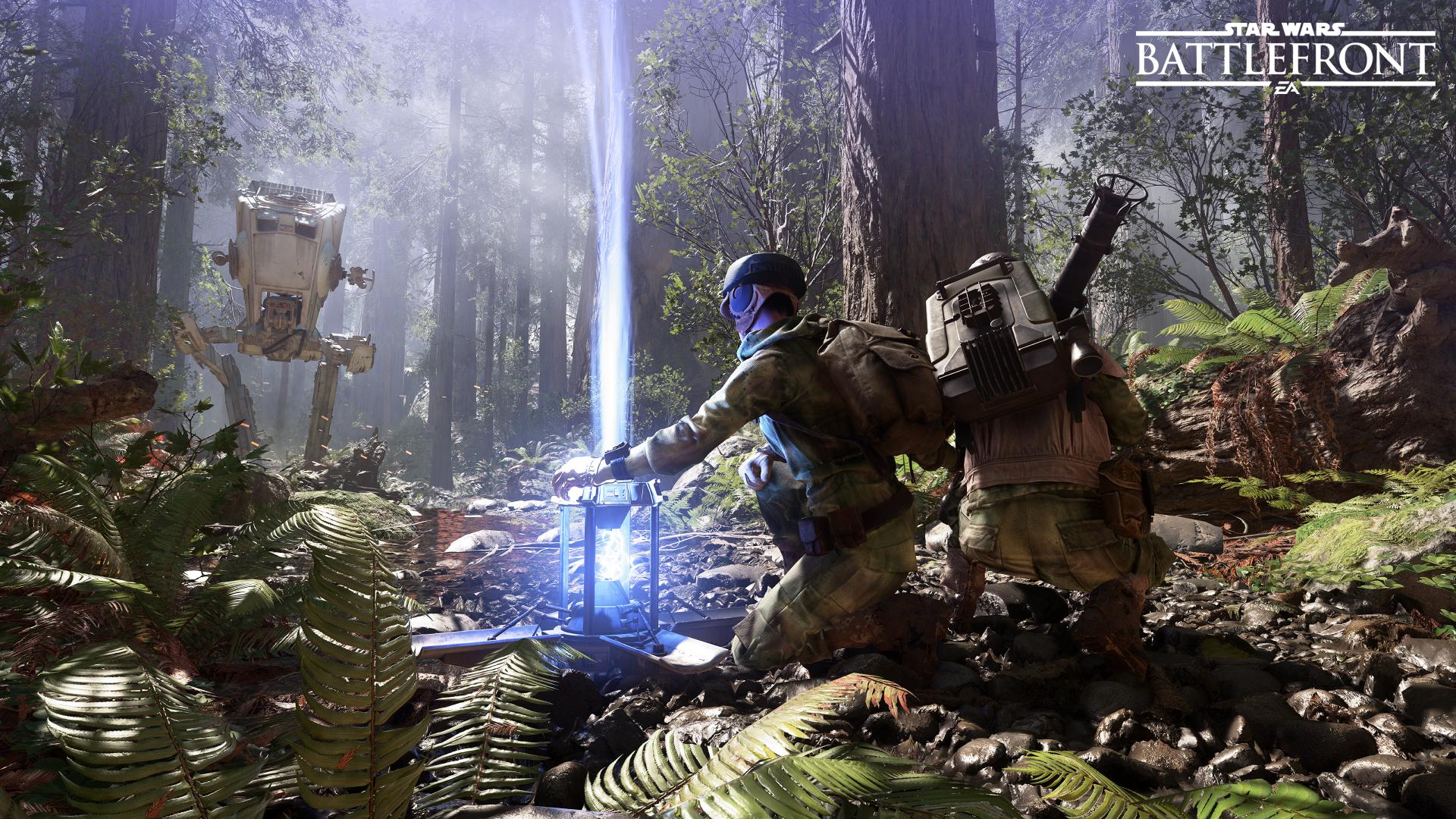 Por si no se dieron cuenta Star Wars: Battlefront ahora tiene un modo escaramuza offline