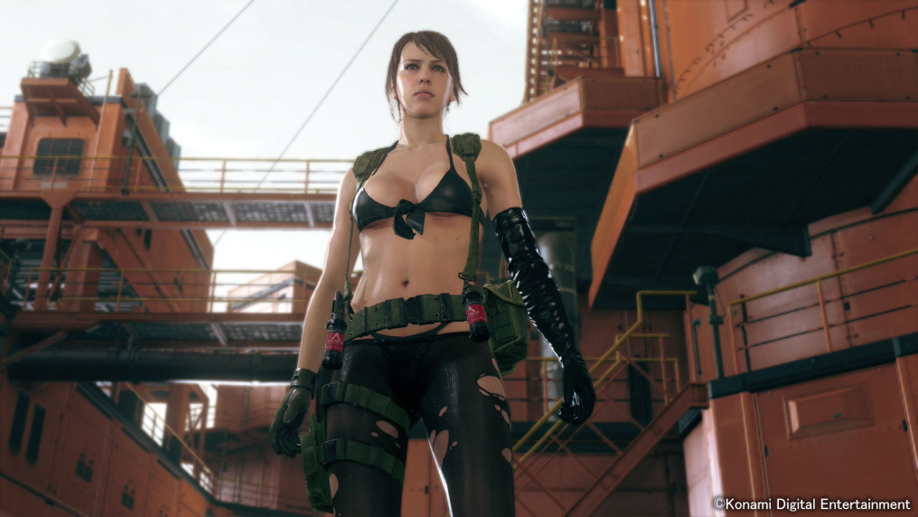 Figura de Metal Gear Solid 5 te dejará apretar sus boobs [BOOBS NEWS]
