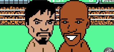 Mayweather vs Pacquiao versión PUNCH-OUT.[VIDEOS]