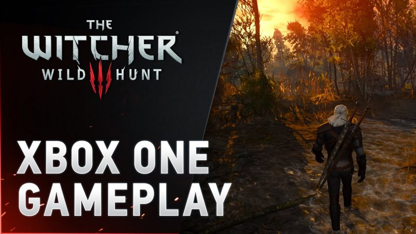the witcher 3 xbone