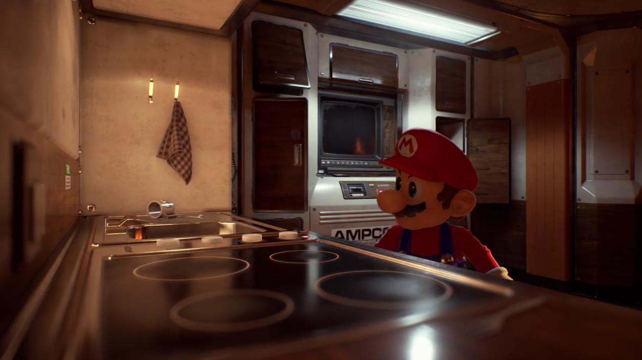Mario Bros se ve Super Unreal en este video [CLIPS]