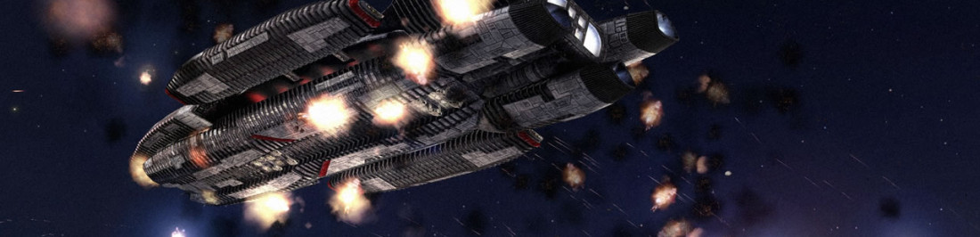 Checa este mod de Battlestar Galactica: Fleet Commander en Homeworld Remastered, se ve glorioso