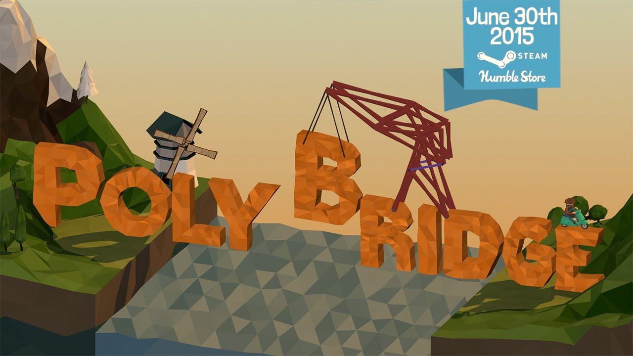 El juego de los puentecitos dementes ya está disponible en Steam y Humble Store