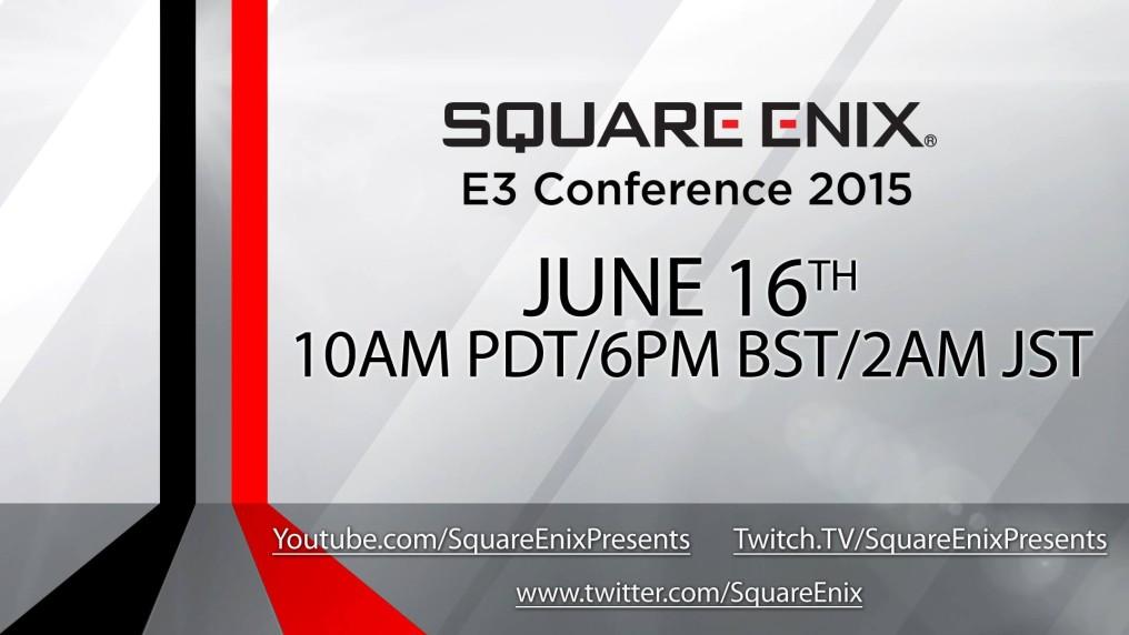 Esta es la conferencia de Square-Enix en vivo [#E32015]