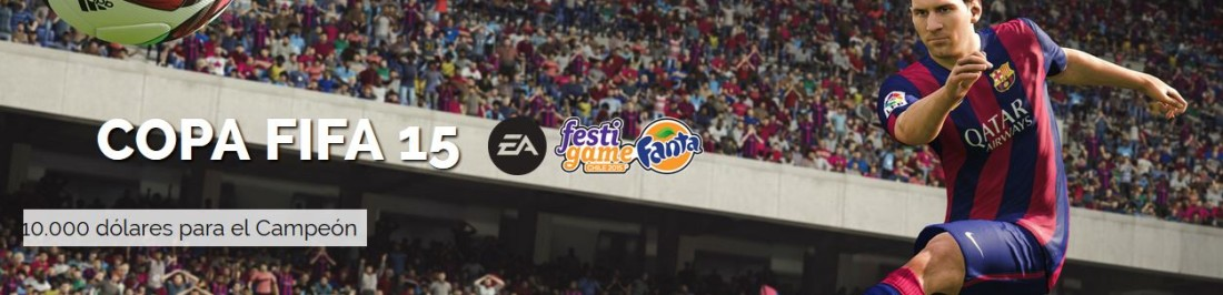 Comienzan las inscripciones para el Torneo de FIFA 15 en Festigame [COMPETENCIAS]
