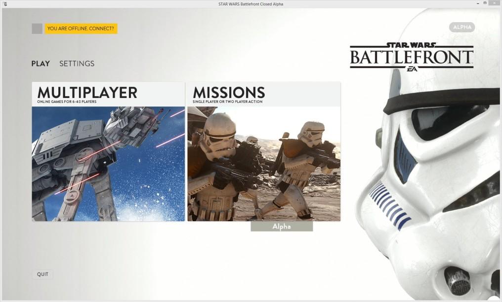 Esto es lo que se ha filtrado del alfa de Star Wars: Battlefront en PC