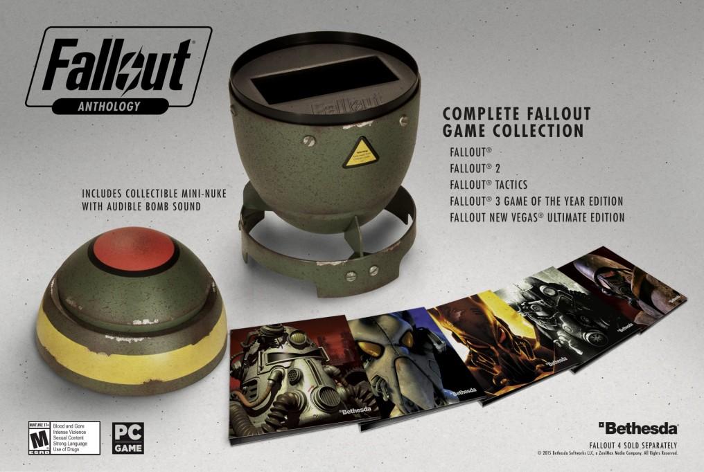 Por la compra de Fallout Anthology llévate de regalo una mini bomba nuclear [Solo para PC]