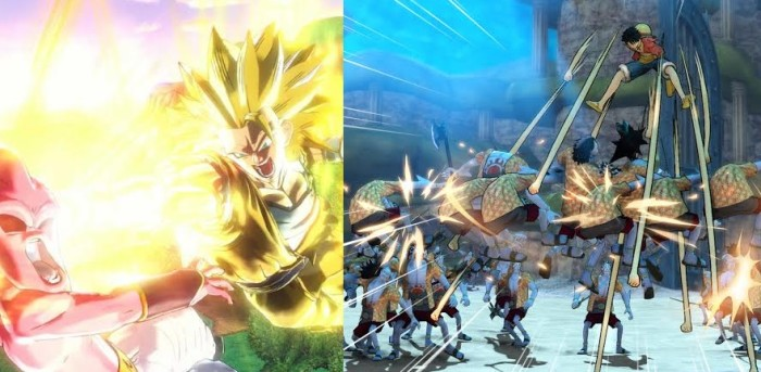 BANDAI NAMCO lanza One Piece: Pirate Warriors 3 y torneo online de Dragon Ball Xenoverse [NOTICIAS]