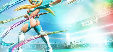 R. Mika es uno de los nuevos personajes de Street Fighter V [y vuelve a todo cachete]