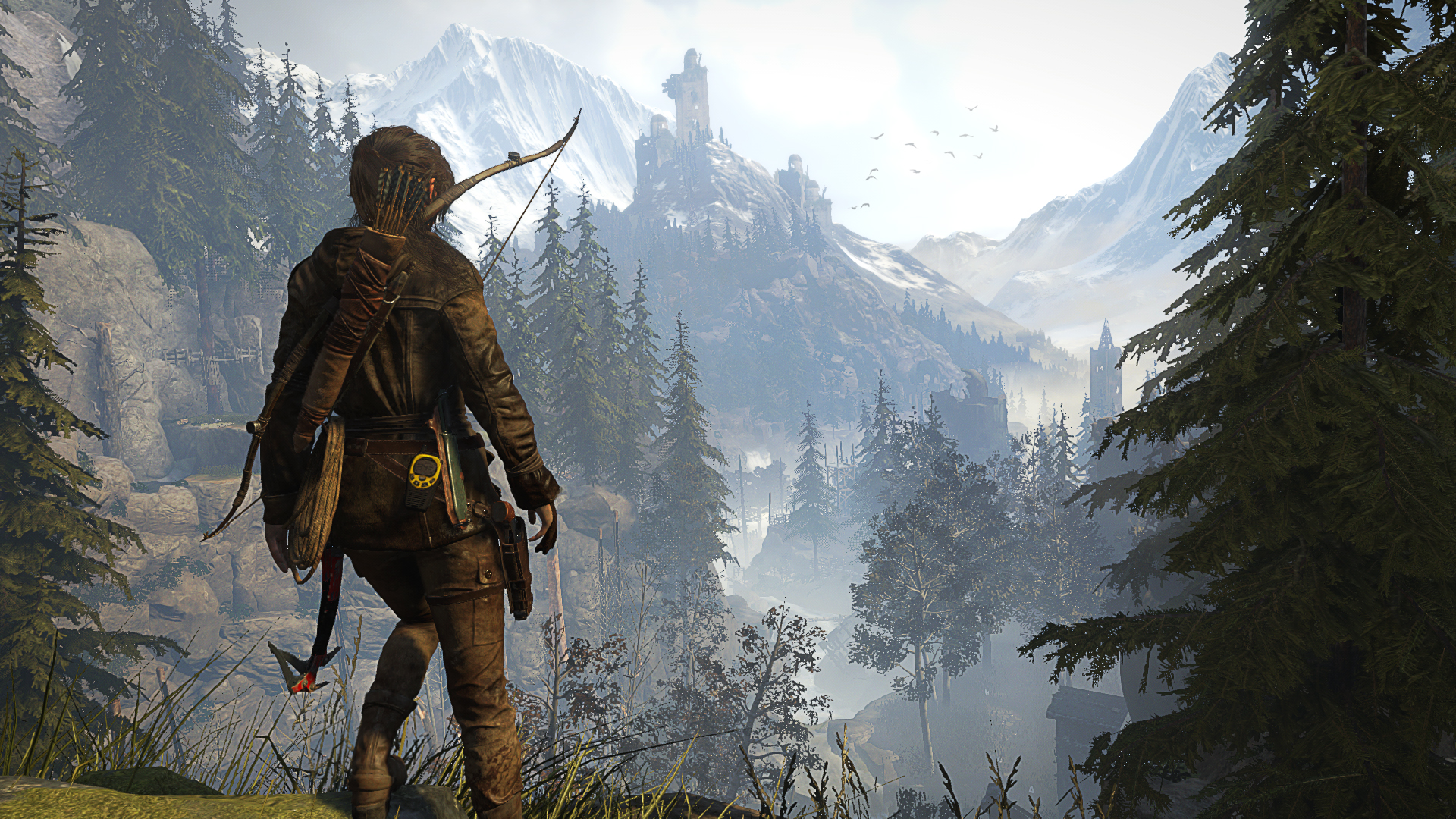Trailer de lanzamiento de Rise of the Tomb Raider [LARITA NIUS]