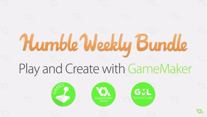 Obtén una licencia de Game Maker Pro a 6 USD a través de Humble Bundle
