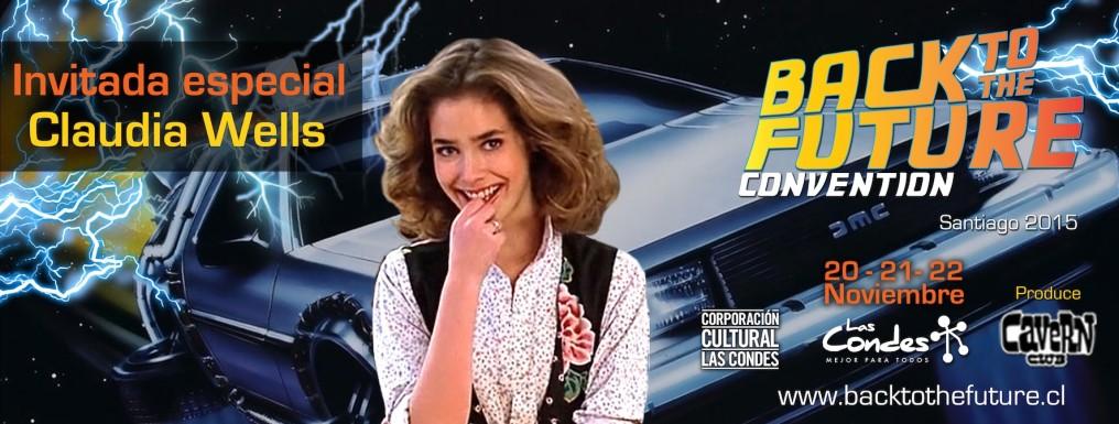 Convención de Volver al Futuro en Santiago trae a Claudia Wells [EVENTOS]