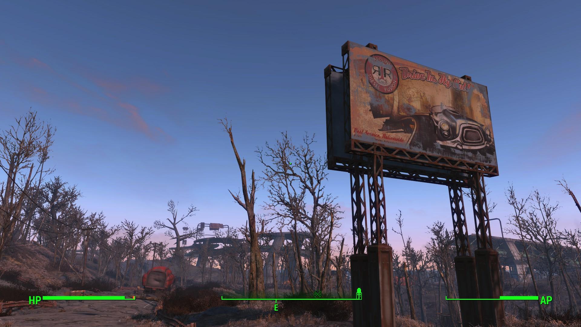 Fallout 4 se ve cinemático en consolas, es decir corre a menos de 30 cuadros por segundo