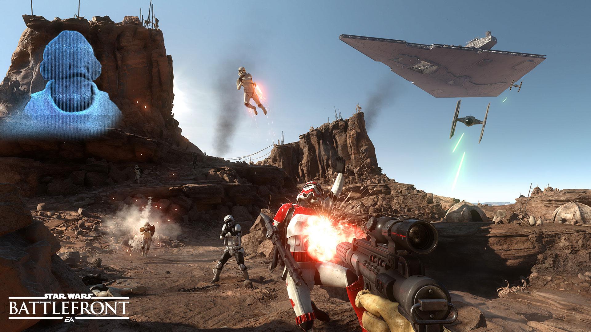 La batalla de Jakku se hace presente en este teaser de Star Wars: Battlefront [TEASER]