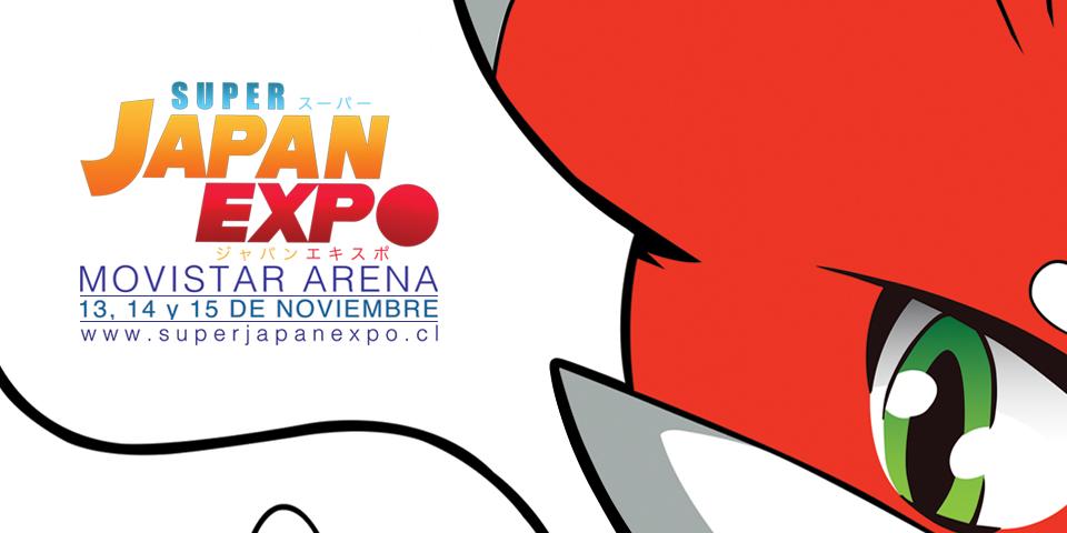 Super Japan Expo Chile llega al Movistar Arena el 13, 14 y 15 de Noviembre [EVENTOS]