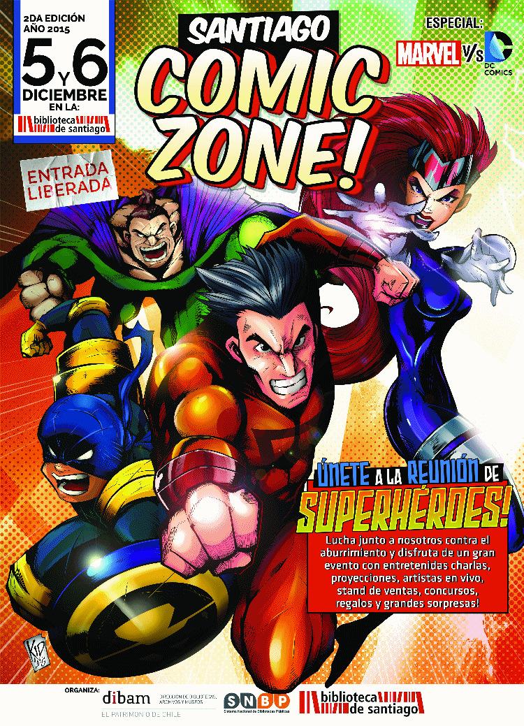 Este fin de semana Llega la Santiago Comic Zone 2015 [EVENTOS]