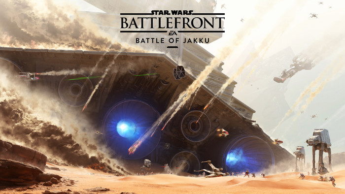 """""""La Batalla de Jakku"""" disponible para todos los jugadores de Battlefront"""