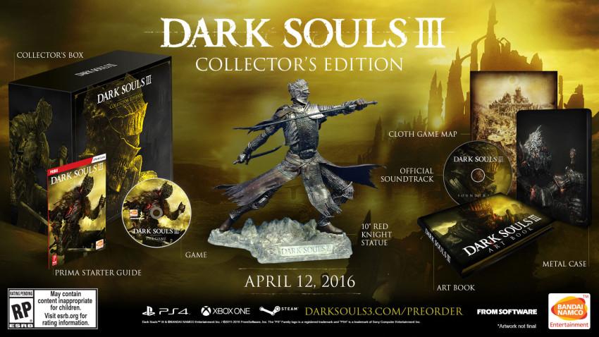 Dark Souls 3 colecciones
