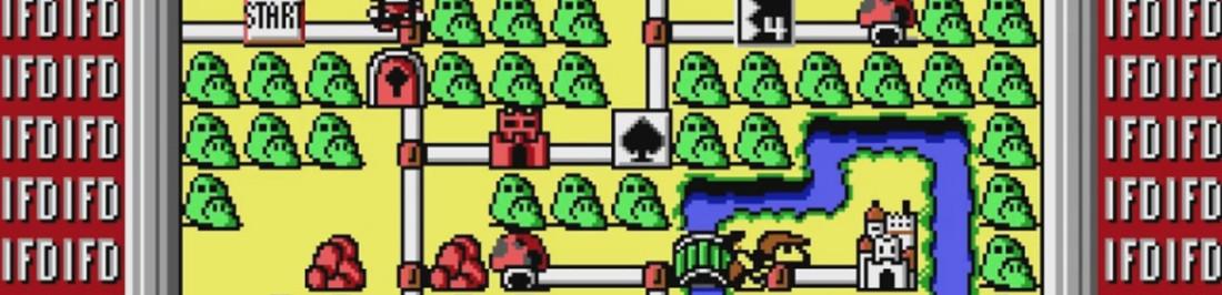 Este fue el primer intento de John Carmack por portear Super Mario 3 a PC