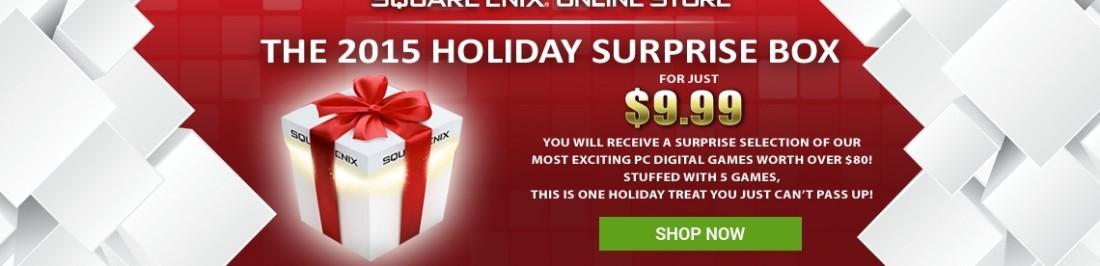 Square Enix ofrece caja navideña con 5 juegos sorpresa [OFERTAS]