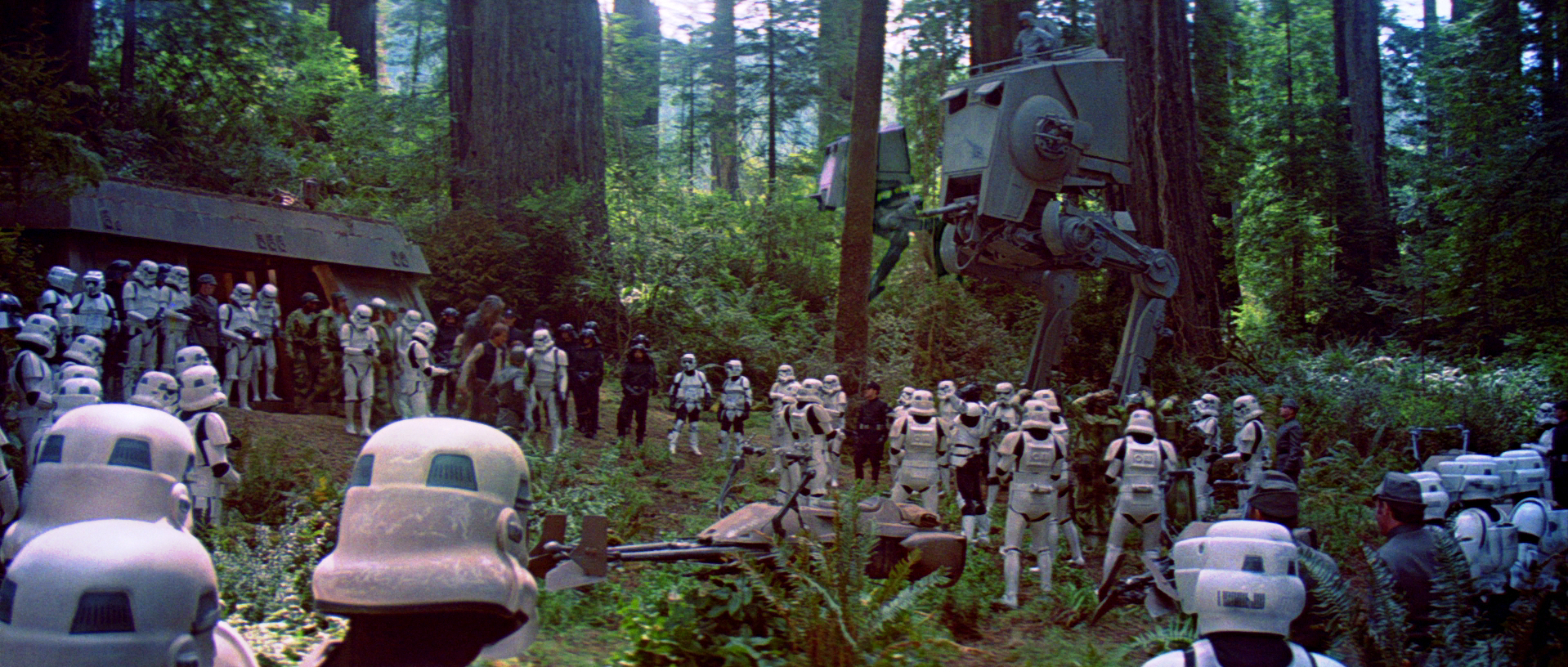 staw wars Endor-ROTJ